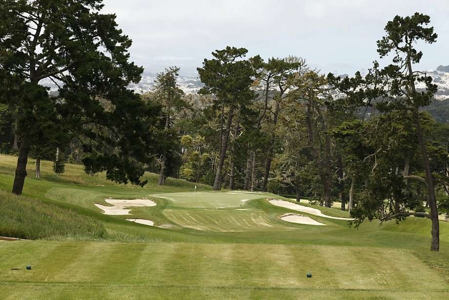 Fairway number 3 at the Olympic Club one year ahead of its hosting the U.S. Open, in San Francisco, California, on Tuesday, June 7, 2011. Photo: Craig Lee, Special To The Chronicle