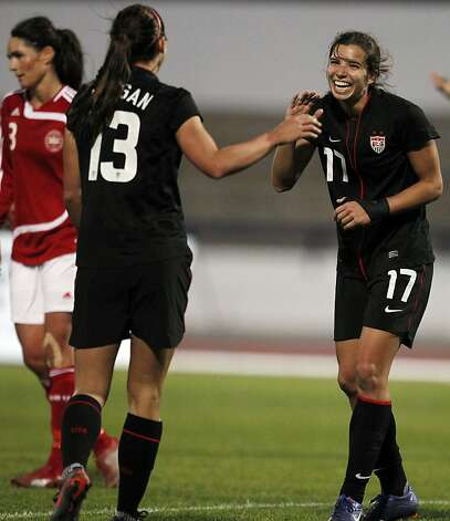 Tobin Heath And Alex Morgan Tobin heath, of the united