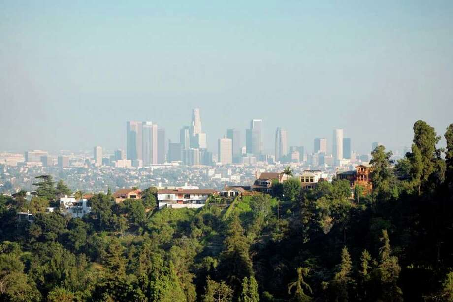 Tougher state and federal air quality standards, combined with cleaner burning engines on new vehicles today, have cut air pollution from cars and trucks across California by more than 85 percent since the 1970s, with peak smog levels in the city of Los Angeles dropping some 70 percent. Photo courtesy of Photodisc/Thinkstock Photo: Contributed Photo