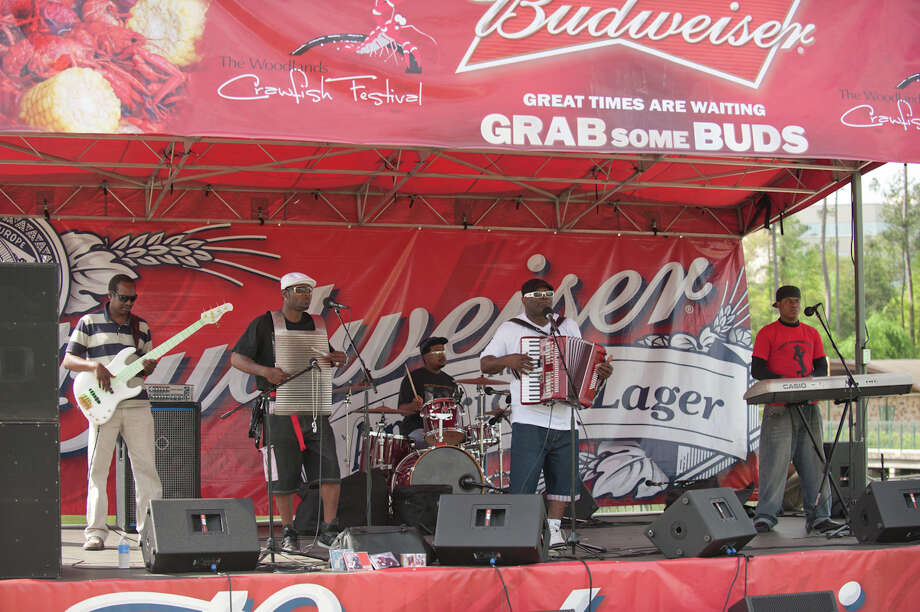 Jabo, The Texas Prince of Zydeco, will entertain attendees in the afternoon at The Woodlands CrawPHish Festival on March 24 at Town Green Park.
