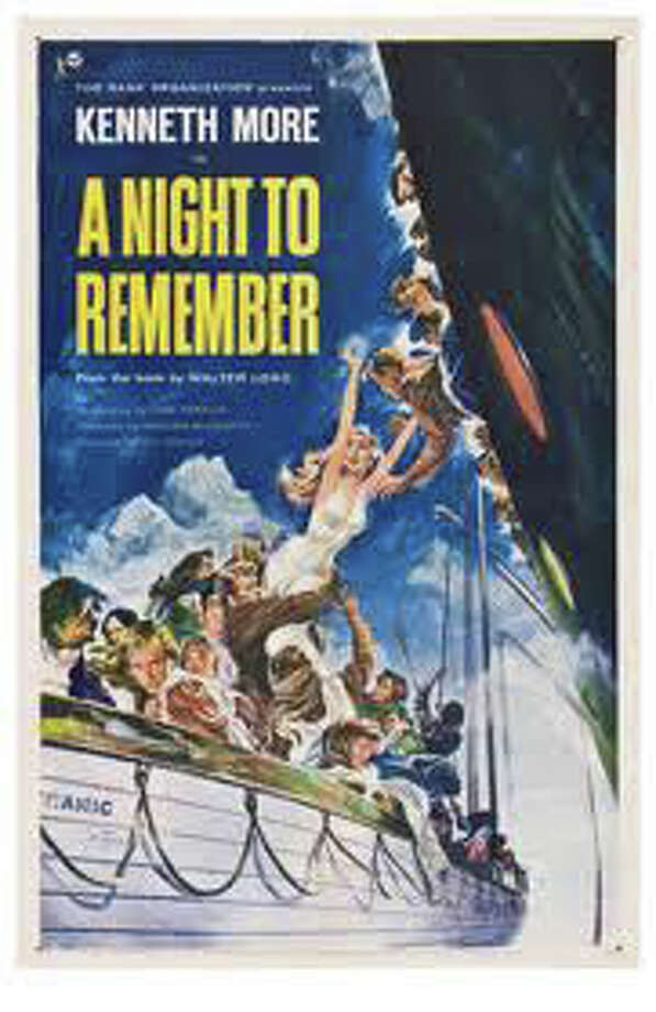 "Make it a weekend to remember when you catch a free screening of ""A Nght to Remember"" Sunday afternoon at the Fairfield Woods Branch Library. Photo: Contributed Photo / Fairfield Citizen"