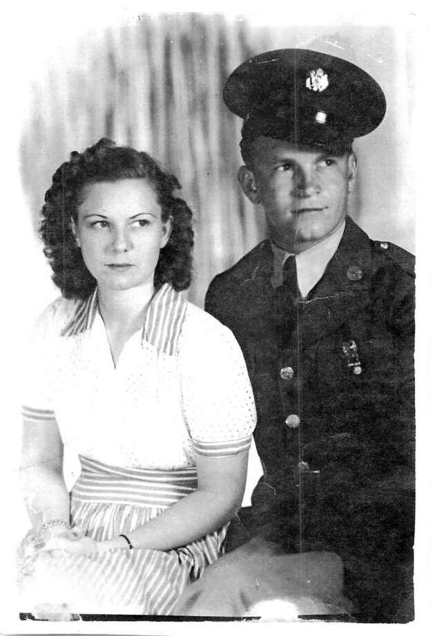 Ruth and Fred Cohrt, circa 1942 Photo: Cohrt Family, HCN_Cohrt