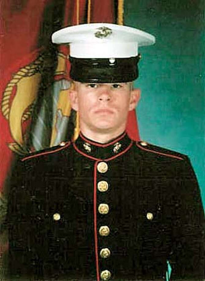 U.S. Marine Lance Cpl. Kyle D. Crowley, 18, in this undated photo, died Tuesday, April 6, 2004, in a gun battle in Iraq. Crowley is one of three San Francisco Bay area residents killed in Iraq this week. (AP Photo/San Francisco Chronicle) NO SALES Photo: Ap