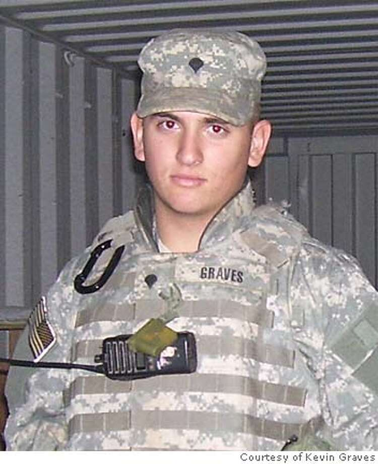 Spc. Joseph A. Graves, 21, of Discovery Bay, Calif. Photo courtesy of Kevin Graves Photo: Courtesy Of Kevin Graves