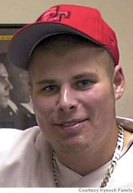 This is an undated photo of Army Spc. Joshua J. Kynoch provided by the Kynoch family. Kynoch, 23, of Santa Rosa, Calif.; died Saturday in Bayji, Iraq, when an explosive detonated near his vehicle. Kynoch was assigned to the 2nd Battalion, 7th Infantry Regiment, 3rd Infantry Division, Fort Stewart, Ga. (AP Photo/Kynoch family via the Santa Rosa Press Democrat) NO SALES,NO SALES