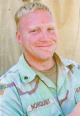 JOE NORQUIST.JPG Army Spc. Joseph C. Norquist / HANDOUT