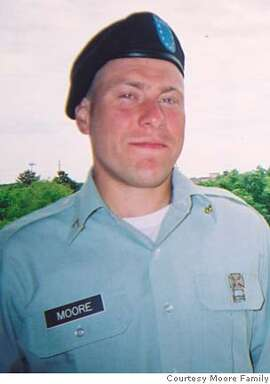 OBIT photo of PFC Keith Moore of San Francisco  Photo courtesy Moore family  Ran on: 10-18-2006  Pfc. Keith Moore's death is being investigated by the Defense Department.  Ran on: 10-18-2006