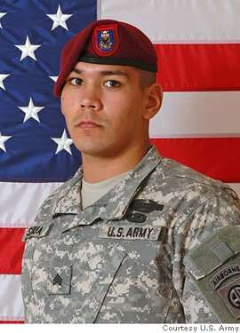 A photo provided by the Army's 82nd Airborne Division shows Sgt. William M. Sigua, 21, of Los Altos Hills, Calif., who died Wednesday, Jan. 31, 2007, of wounds he suffered when his unit came in contact with small arms enemy fire during combat operations in Bayji, Iraq, according to a military statement. Sigua served as an infantry squad leader with the 1st Battalion, 505th Parachute Infantry Regiment, 82nd Airborne Division at Fort Bragg, N.C. (AP Photo/U.S. Army) UNDATED PHOTO PROVIDED BY THE ARMY'S 82ND AIRBORNE DIVISION