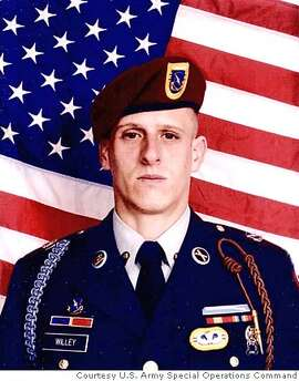 This undated photo provided by the U.S. Army Special Operations Command shows Sgt. Cheyenne C. Willey, 36, of Fremont, Calif., a Civil Affairs specialist assigned to the 351st Civil Affairs Command. Willey and Army Sgt. Regina Reali, 25, of Fresno, Calif., were killed Friday, Dec. 23, 2005, by a roadside bomb in Iraq. (AP Photo/U.S. Army Special Operations Command) ** BEST QUALITY AVAILABLE** UNDATED HANDOUT
