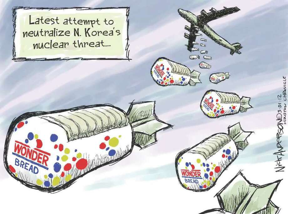 OpEd cartoon by Nick Anderson from the Houston Chronicle.