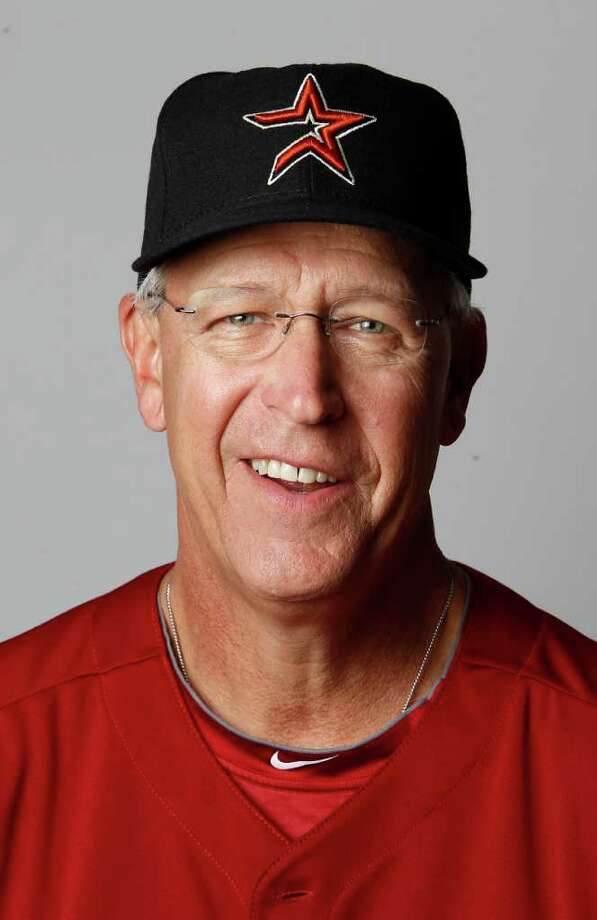 Jon Matlack, minor league pitching coordinator Photo: Karen Warren, Houston Chronicle / © 2012  Houston Chronicle