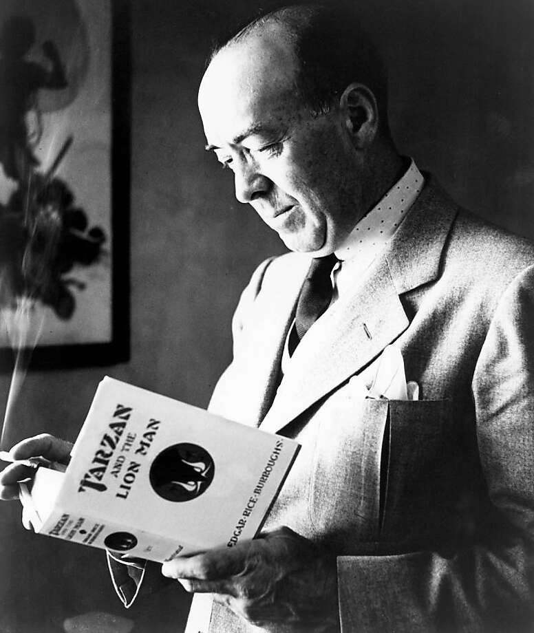 "Edgar Rice Burroughs, author of ""Tarzan"" and ""John  Carter."" Photo: Wordpress"