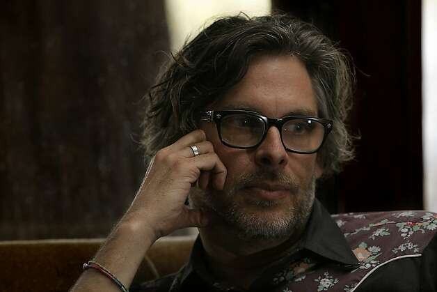 "Pulitzer Prize-winning author Michael Chabon and a screenwriter for the upcoming movie ""John Carter"" at his home in Berkeley, California. February 17, 2012 Photo: Siana Hristova, The Chronicle"