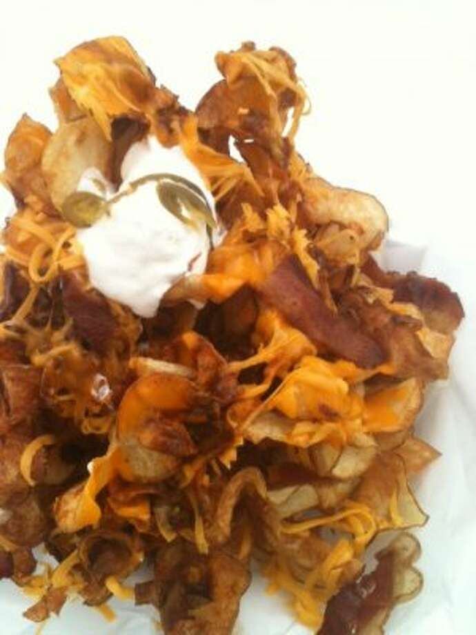 Smothered potato chips from RodeoHouston 2012.