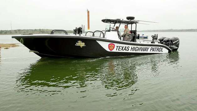 This craft is one of the machine-gun-equipped boats that will be patrolling the Rio Grande and Intracoastal Waterway: the David Rucker, named after DPS trooper Rucker, who was shot and killed in the line of duty in 1981. Photo: Alberto Martinez, Austin American-Statesman