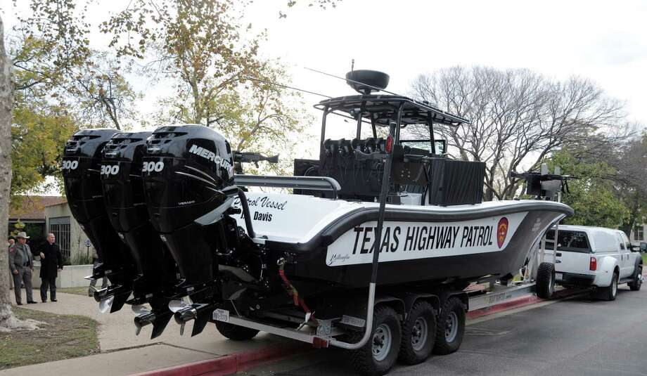 December marked the commissioning of the first in a new series of DPS patrol vessels. It is named in honor of fallen Trooper Jerry Don Davis. Davis was shot and killed in the line of duty in Lubbock County in 1980. The patrol vessels will be named for DPS officers killed in the line of duty in each of the state's six regions. The J.D. Davis is now stationed in the Valley and will patrol the Rio Grande River. COURTESY PHOTO Photo: COURTESY PHOTO