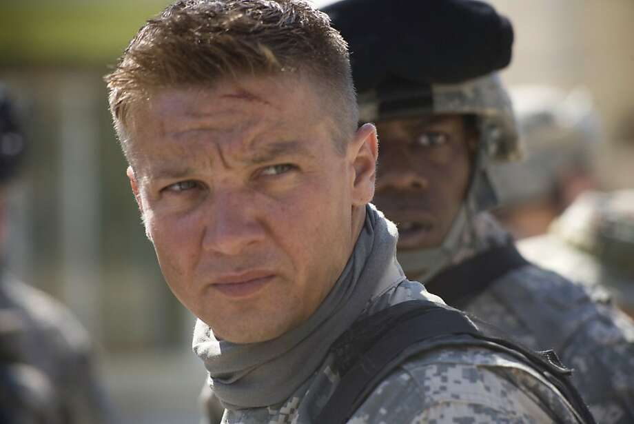 "In this film publicity image released by Summit Entertainment, Jeremy Renner is shown in a scene from, ""The Hurt Locker."" (AP Photo/Summit Entertainment, Jonathan Olley) ** NO SALES ** Photo: Jonathan Olley, AP"