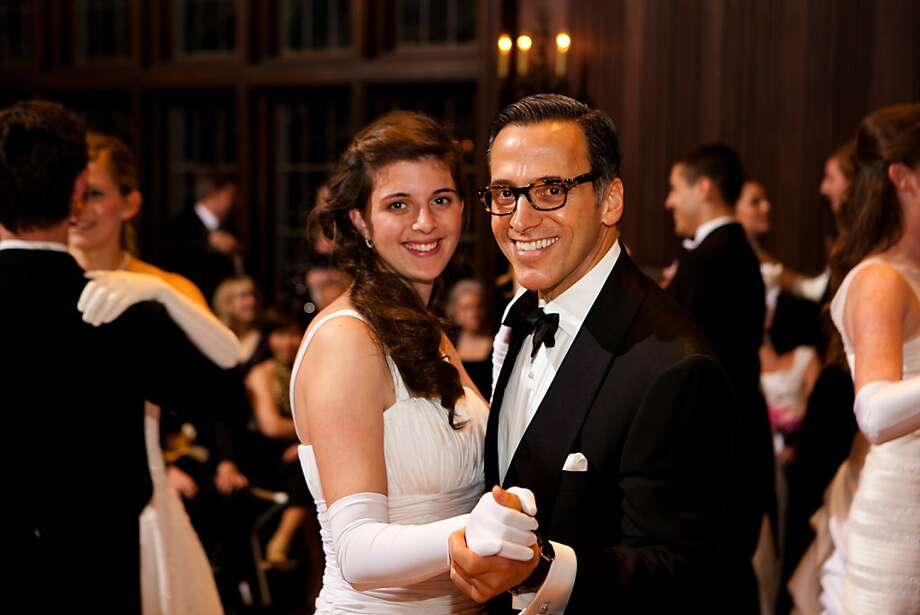 Debutante Katherine Atkeson dances with her uncle, Dr. Alan Malouf. Feb. 2012. By John Meyer Photography. Photo: John Meyer Photography, Special To The Chronicle