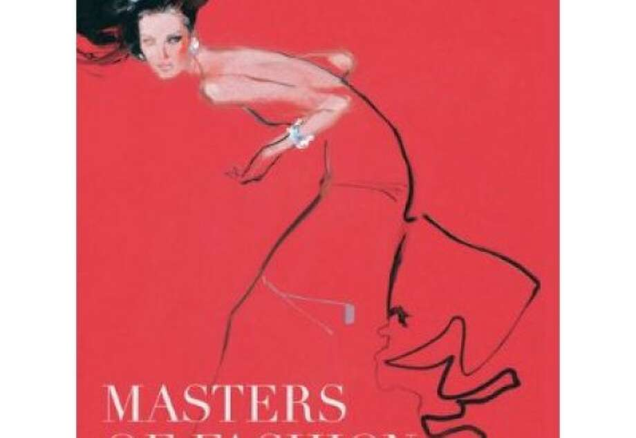 "Book cover of David Downton's ""Masters of Fashion Illustration."" A lavishly illustrated and beautifully designed book that celebrates the work of the great fashion illustrators from late-19th century to the present day. The book covers the work of fashion illustrators, such as Rene Gruau and Antonio Lopez, fine artists such as Boldini and Warhol, and graphic designers such as Tony Viramontes and Bob Peak. Photo: Elizabeth Burr, Amazon.com"