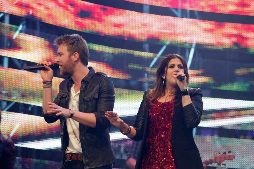 Lady Antebellum plays March 1, 2012 in Houston at Rodeo Houston following the Rodeo Houston BP Super