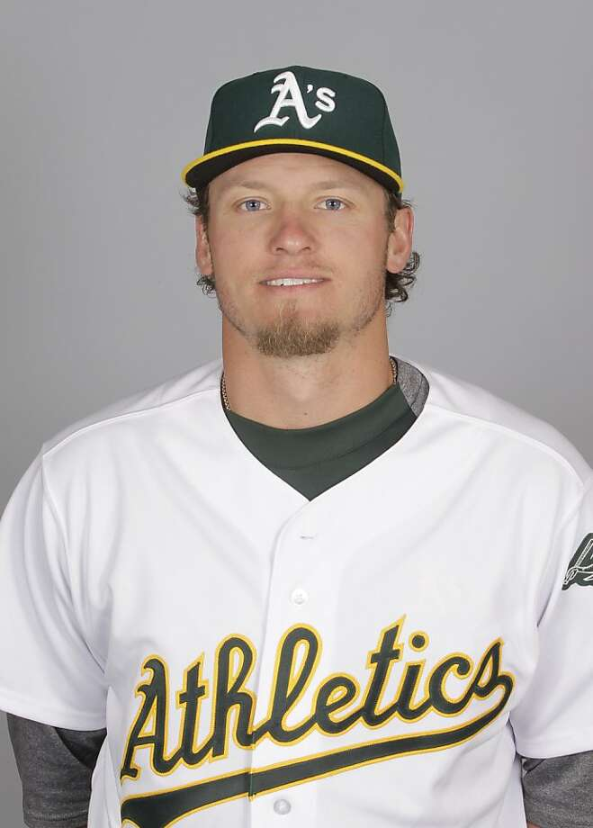 This is a 2012 photo of Josh Donaldson  of the Oakland Athletics baseball team.  This image reflects the Oakland Athletics active roster as of Feb. 27, 2012 when this image was taken. (AP Photo/Darron Cummings) Photo: Darron Cummings, Associated Press