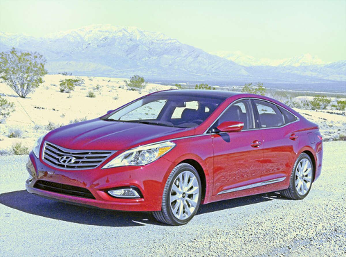 Large Car Hyundai Azera2006 and older$5,700 Shown: A 2012 Hyundai Azera
