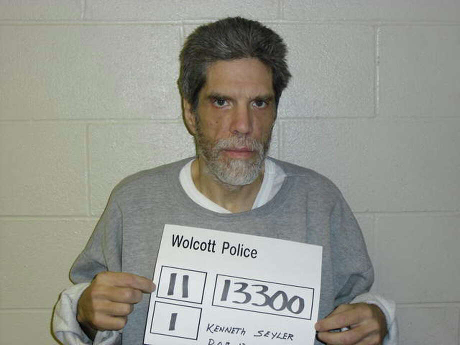 Kenneth Seyler, 52, was arrested for the 80th time, police say, following a burglary at the American Legion Hall in Wolcott. Photo: Contributed