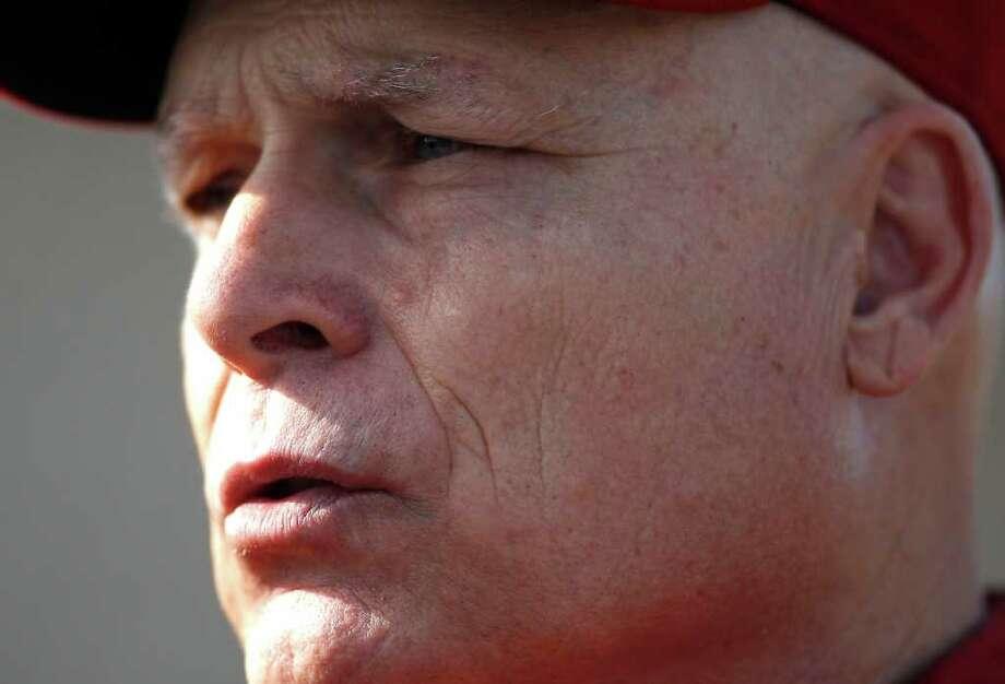 Brad Mills, manager Photo: Karen Warren, Houston Chronicle / © 2012  Houston Chronicle