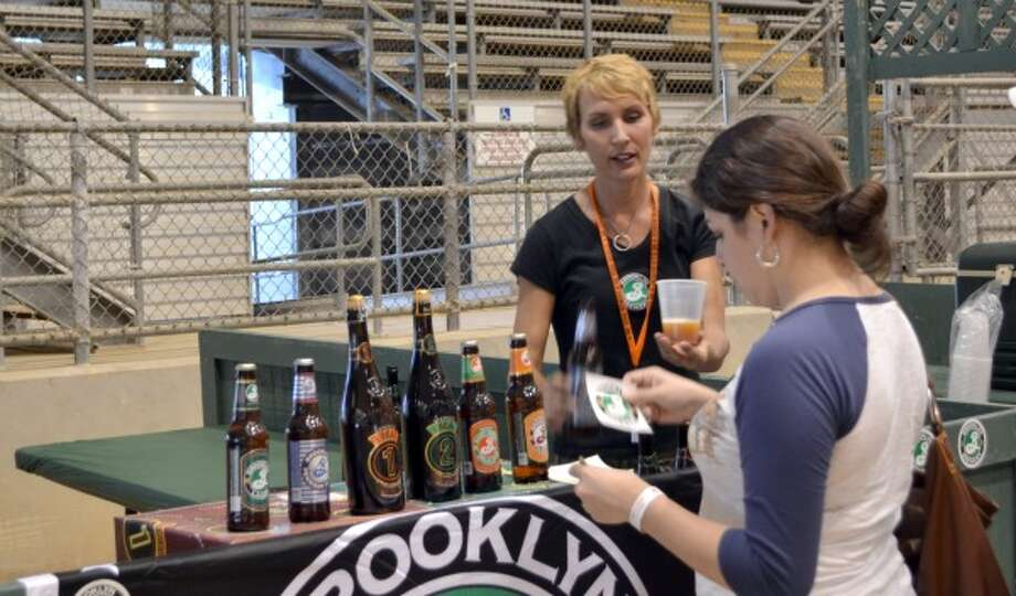 Nadine Jones, Austin-based rep for Brooklyn Brewery. (Ronnie Crocker / Beer, TX)