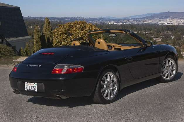 On Fat Tuesday in 2001, my friend Karl showed up at my house in his brand-new Porsche Carrera 4 cabriolet. He tossed me the keys, and off we went down Highway 101 at a faster-than-recommended speed. Photo: Stephen Finerty