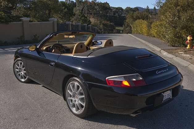 I wanted to buy his 2001 Porsche Carrera 4 cabriolet, and I finally got the chance when Karl bought a new 2012 Turbo S. Photo: Stephen Finerty