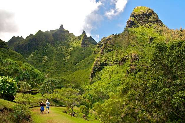 Limahuli National Tropical Botanical Garden on Kauai.  Photo by John Flinn / Special to The Chronicle Photo: John Flinn