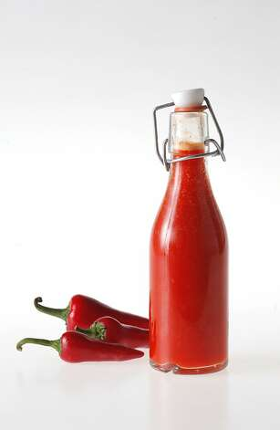 Waterbar's Red Jalapeno Hot Sauce as seen in San Francisco on February 22, 2011. Photo: Craig Lee, Special To The Chronicle