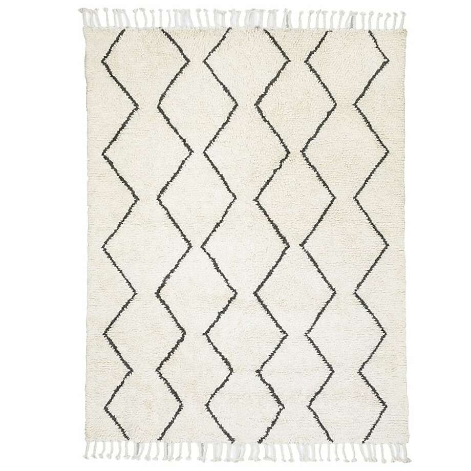 Ivory Souk rug from West Elm Photo: West Elm