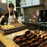 Square 23: A relative newcomer to the Inner Sunset, Arzimendi Bakery, with its muffins, chocolate things and pizza, is our pick.