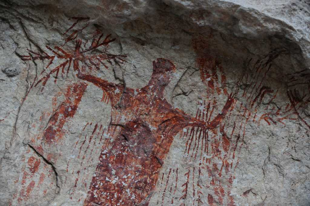 Ancient Artwork Offers A Puzzling Picture Of Past San