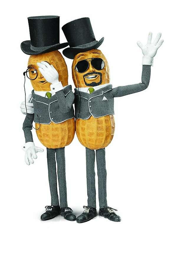 An undated image of Peanut Butter Doug with Mr. Peanut. Photo: Kraft Foods Inc