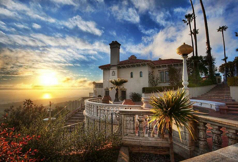 Take a tour of Hearst Castle in San Simeon, CA in honor of the late William Randolph Hearst.