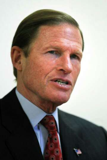 Senator Richard Blumenthal, Bridgeport, Conn. Jan. 19th, 2012.