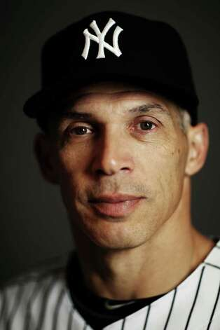 New York Yankees Manager Joe Girardi poses for a portrait during the Yankees Photo Day February 27, 2012 in Tampa, Florida. Girardi was spotted having dinner at Gabriele's Italian Steak House in Greenwich last week. (Photo by Nick Laham/Getty Images) Photo: Nick Laham, Getty Images / 2012 Getty Images