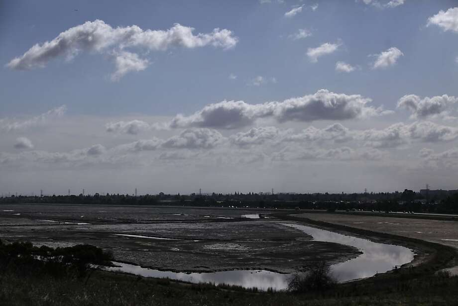 The formerly Cargill-owned Ravenswood salt ponds and now part of the Don Edwards San Francisco Bay National Wildlife Refuge are seen in Menlo Park on Monday, February 27, 2012 in Menlo Park, Calif. Photo: Lea Suzuki, The Chronicle