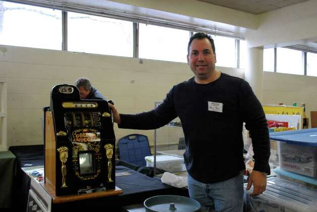 Eastern Greenwich Civic Center held an Antique Show on March 3 in Old Greenwich. Photo: Lauren Stevens/Hearst Connecticut Media Group