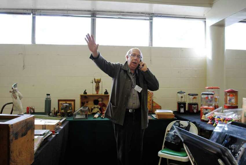 Eastern Greenwich Civic Center held an Antique Show on March 3 in Old Greenwich.