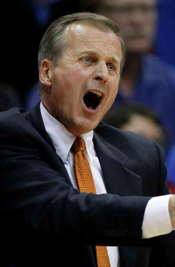 Texas head coach Rick Barnes and the Longhorns are not out of the picture for the 2013 NCAA Tournament. (AP Photo/Ed Zurga) Photo: Ed Zurga, Associated Press / FR34145 AP