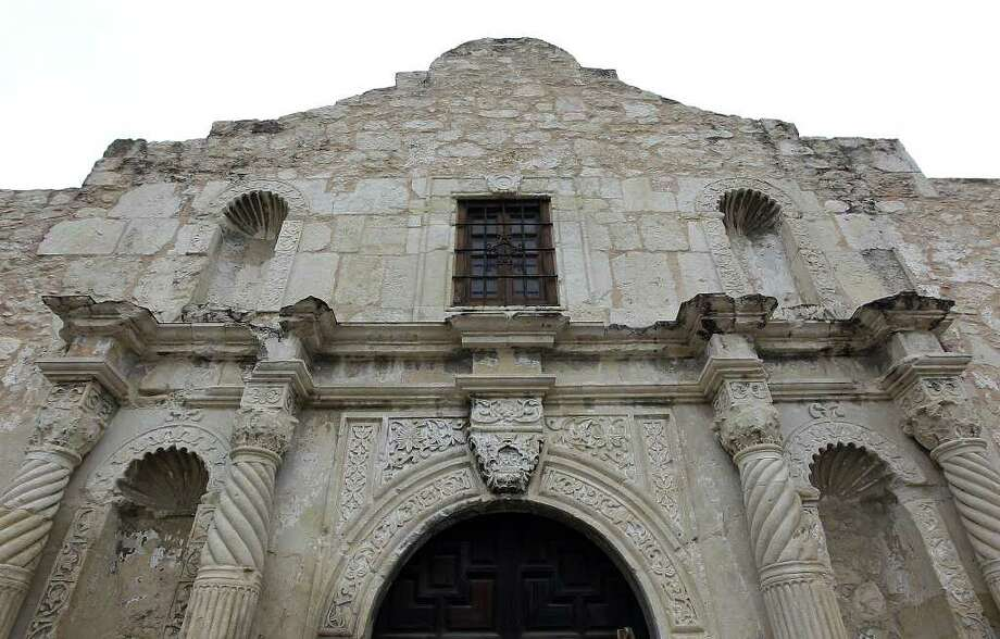 Images of the facade of the Alamo in its current state. Efforts are being made to preserve the shrine but funding is needed for continued assessments and further preservation projects. Kin Man Hui/San Antonio Express-News Photo: Kin Man Hui, San Antonio Express-News / © 2012 San Antonio Express-News