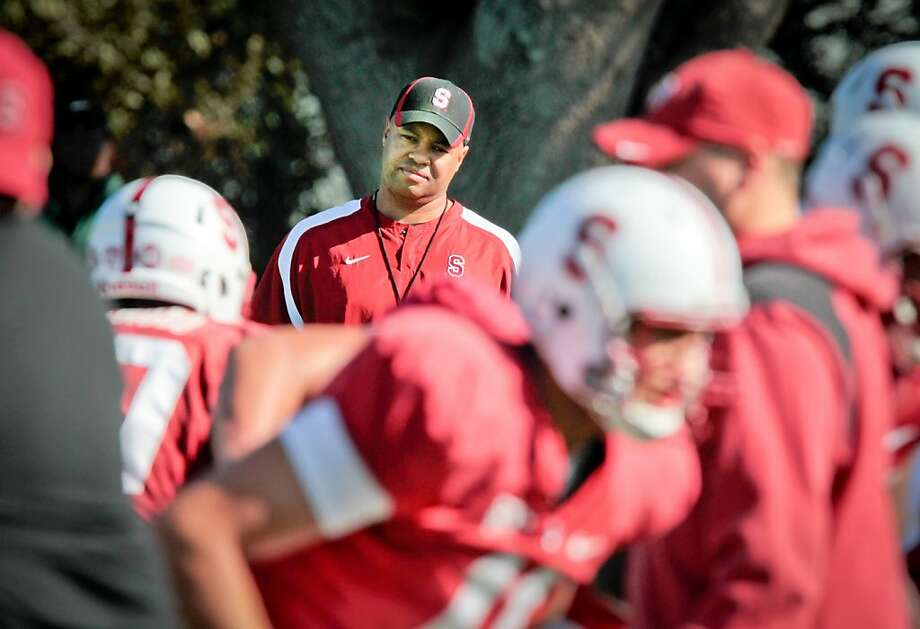 Stanford coach David Shaw won't open training camp to the public and the media until Aug. 19. Photo: John Storey, Special To The Chronicle