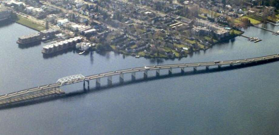 Still referring to I-90 bridge as the old bridge, and 520 as the new bridge. -- Joan Boushey  (seattlepi.com file photo)
