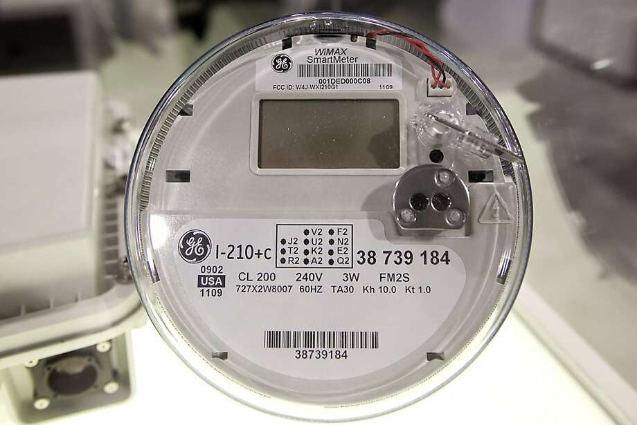 Smart meters record a home's energy use hour by hour. Photo: Daniel Acker, Bloomberg News