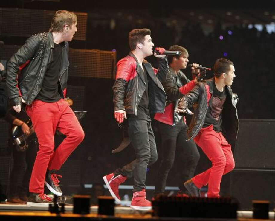 Big Time Rush performs in concert during the Houston Livestock Show and Rodeo Sunday, March 4, 2012, in Houston. ( James Nielsen / Chronicle ) (James Nielsen / Chronicle)