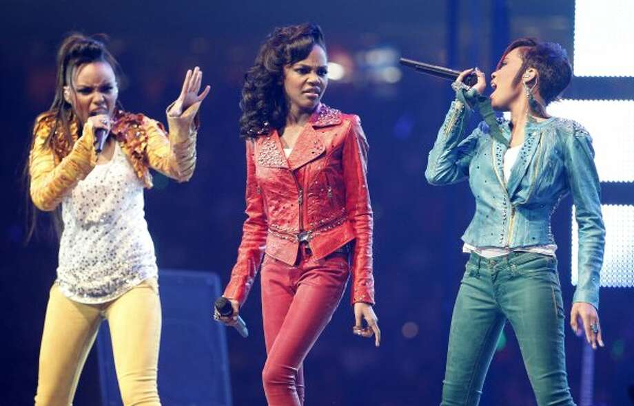 The McClain sisters opened for Big Time Rush at the Houston Livestock Show and Rodeo Sunday, March 4, 2012. (James Nielsen / Chronicle)